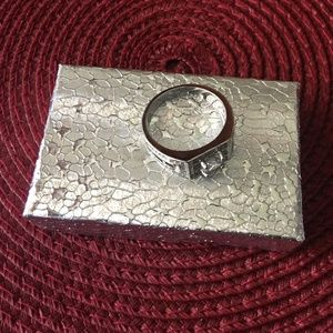 925 Stamped Sterling silver ring size 11 (Unisex)
